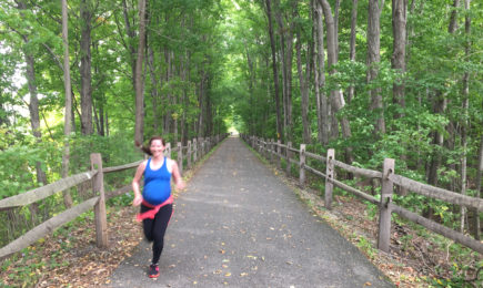 running while pregnant third trimester