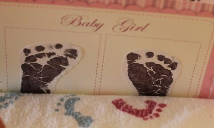 Baby Feet and a normal labor