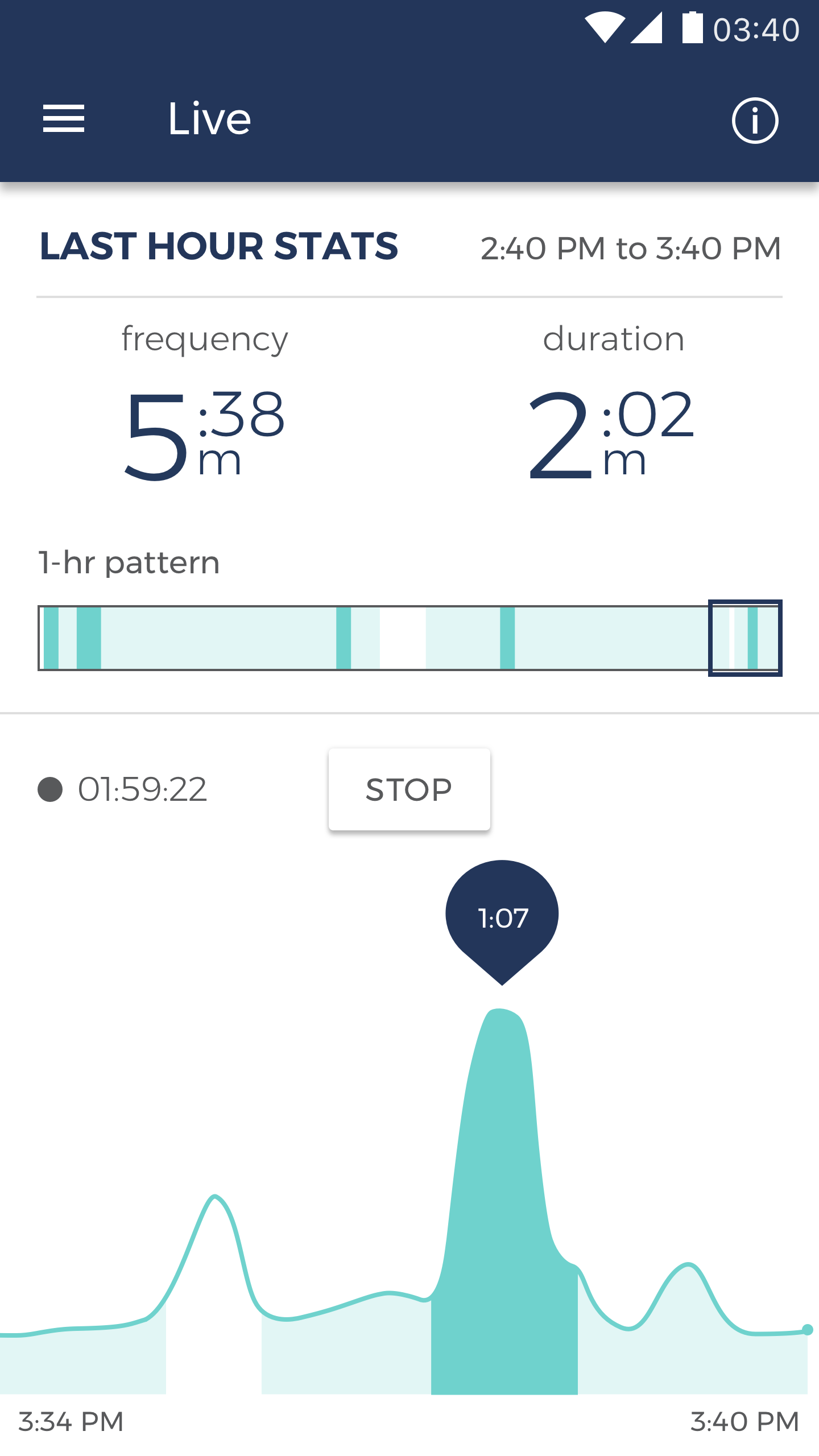 Bloomlife app screenshot