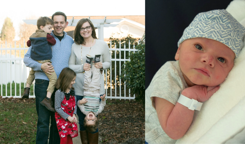 Melissa, fourth time mom, shares her story with Bloomlife the contraction tracker for third trimester of pregnancy
