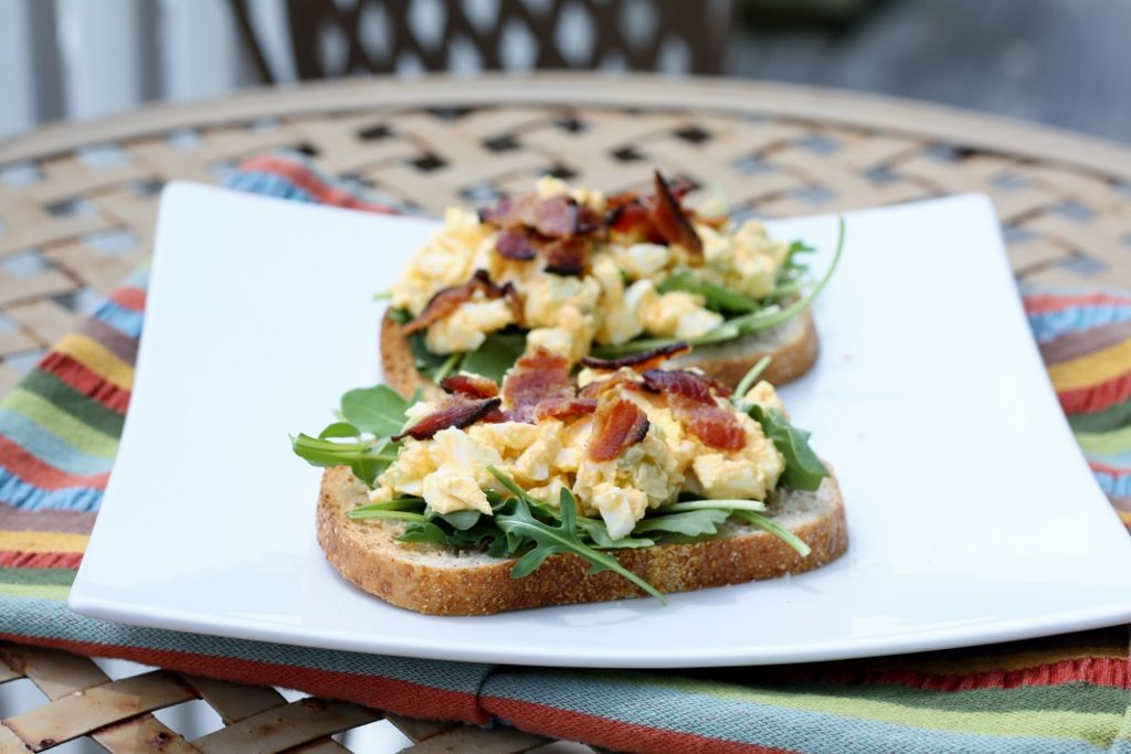 Prenatal Nutrition and egg salad