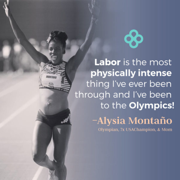 How Does an Olympian Prepare for Labor?