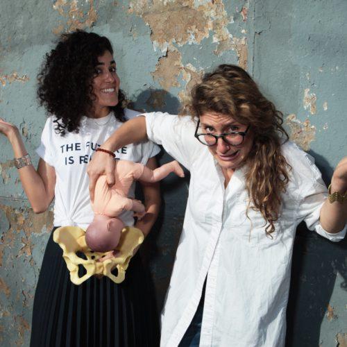 Ash Spivak and Natalia Hailes